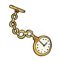33689790-cartoon-old-pocket-watch